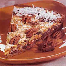 Chocolate and Coconut Pecan Tart