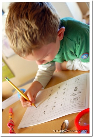 Our Aussie Homeschool ~ Explode the Code
