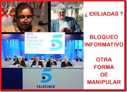 Bloqueo Informativo - Telecinco - La Sexta