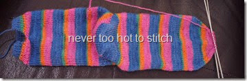 2014 Socks for Someone #5 first sock done