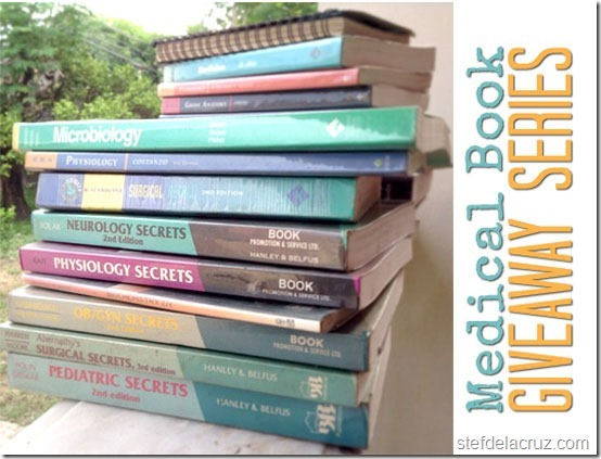 medical book giveaway