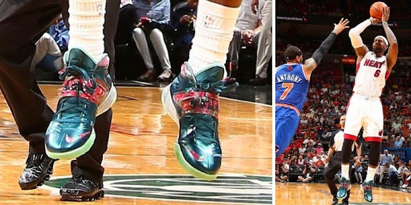 King James and His 26 Different Nike Zoom Soldier VII8217s in 201314