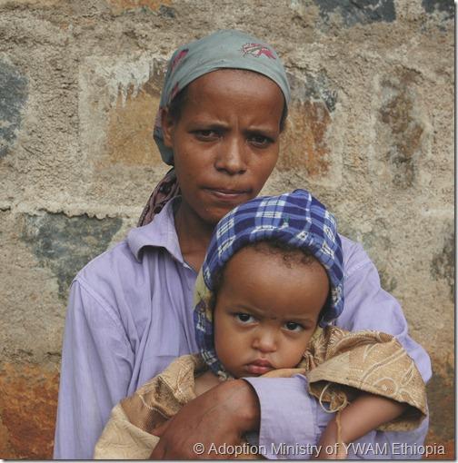 Ebise Bekele & mother