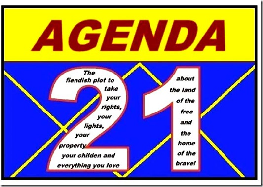 Agenda 21 Plot