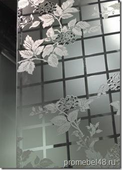 Стекло и зеркало  химического травления DSG-017 Shining Tree
