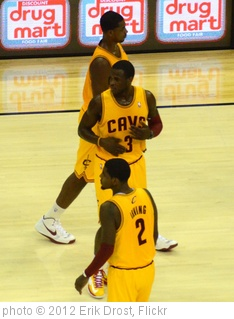 'Tristan Thompson, Dion Waiters, and Kyrie Irving' photo (c) 2012, Erik Drost - license: http://creativecommons.org/licenses/by/2.0/