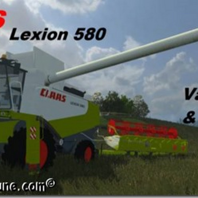Farming simulator 2013 - Claas Lexion 580 pack v 1.0