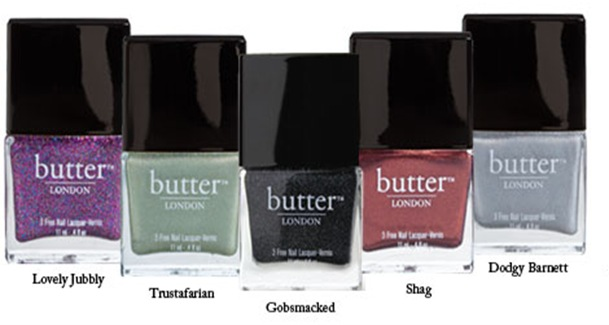 Butter_London AW 2012 collection