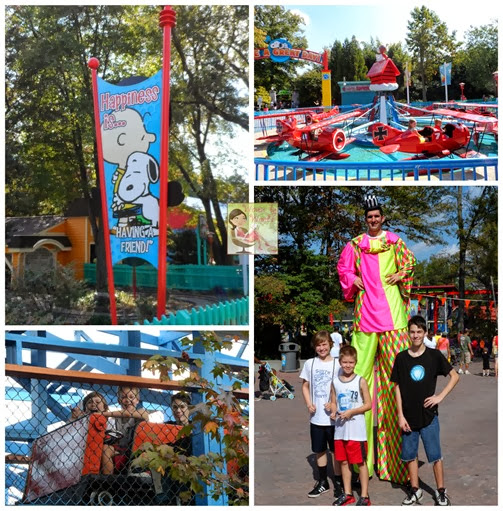 Planet Snoopy Collage