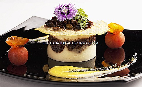 The Halia Valentine's Day Main Course Rangers Valley Wagyu Beef Cheek Singapore Botanics Garden