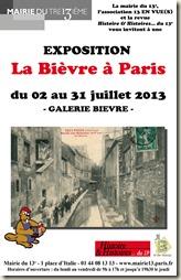 Exposition du 2 au 31 Juillet à la Mairie du XIIIe arrondissement.