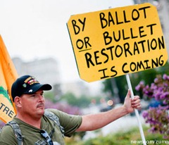 by ballot or bullet