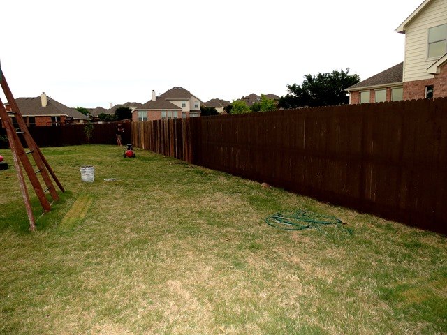 How to Build a New Fence Using Old Scraps www.stylewithcents.blogspot.com. 4