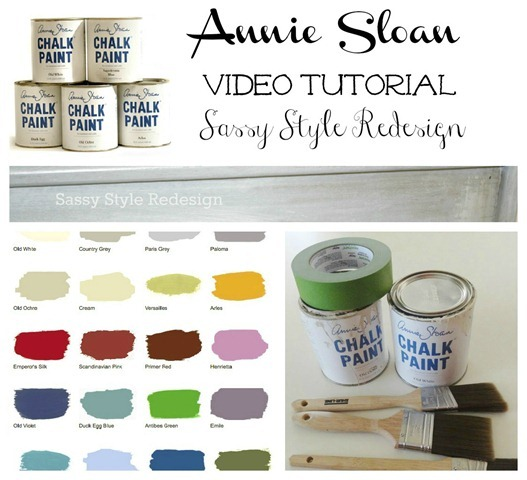 Annie Sloan Chalk Paint Tutorial