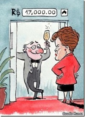 Dilma e salarios
