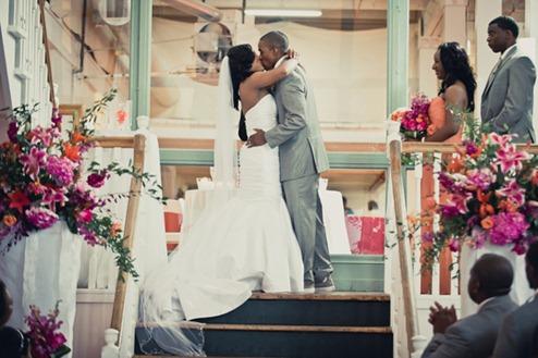 Casamento Moderno - Laranja e Pink (14)