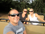 Dyl, hails and kimmy on an afternoon game drive.