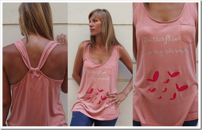 camiseta zzz salmón