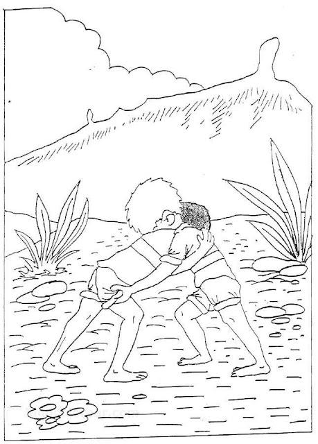 Dibujos del d a de canarias manualidades infantiles - Islas canarias con ninos ...