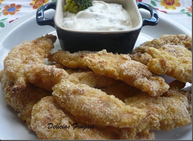 Nugget de frango - Delícias Frugais