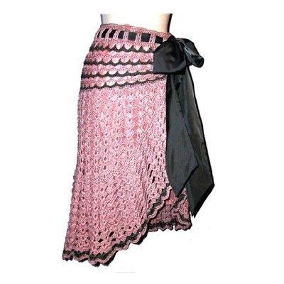 faldas a crochet imagenes encontradas en la web de faldas tejidas a
