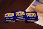 They give you packets of mayo in Quebec!