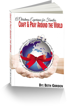 Craft & Pray Around the World Book #christmas #bible #craftsforkids #kidsactivities