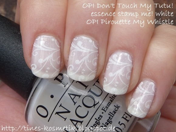OPI Dont Touch My Tutu Stamping 2