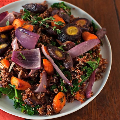 Roasted Carrot & Quinoa Salad
