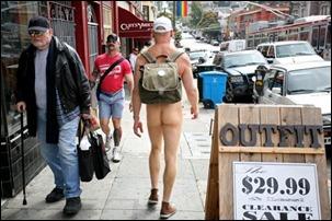 São Francisco nudez