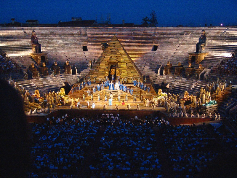 Arena di verona aida von guiseppe verdi 1232258895