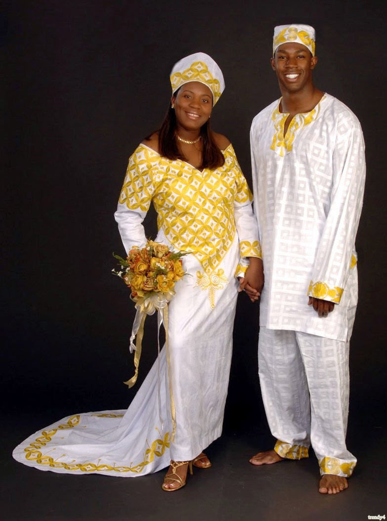 African traditional wedding dresses for 2015