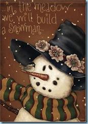 meadow snowman