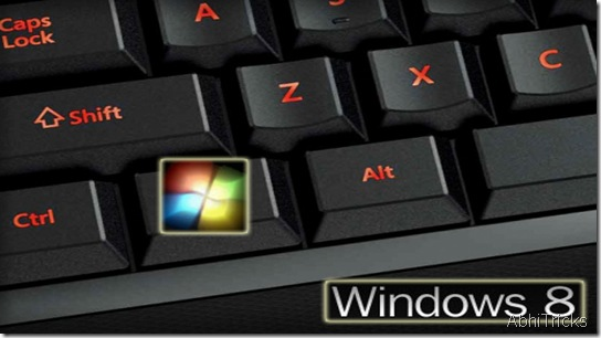 Windows8 Shortcuts