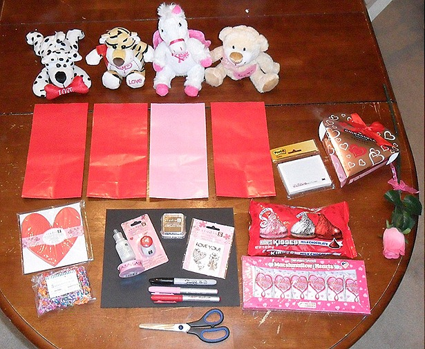 Creative Tizzy Happy Valentines Day Valentines Goody Bags For Kids
