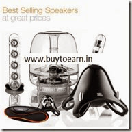 Amazon: Best Selling Speakers upto 60% off from Rs. 295