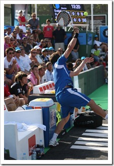 Belasteguin y Díaz sudan para meterse en las semifinales del Bwin PPT Ciudad de Marbella.