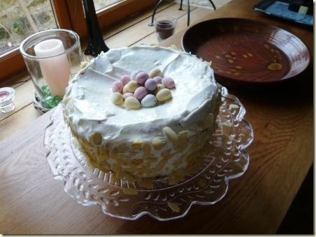 birds nest cake1e
