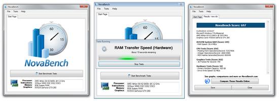 Benchmark Kecepatan dan Kinerja Komputer dengan NovaBench