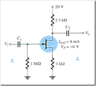 MCQs in FET Amplifiers Fig. 08