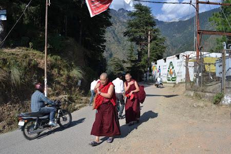 Mica Lhasa: pelerinajul de dimineata din Bhagsu spre Mcleod Ganj