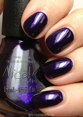 Nicole by OPI Plum to Your Senses 2