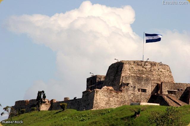 The Fort at Rio San Juan Nicaragua