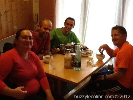 Emeline, Stéphane, Runmygeek et David