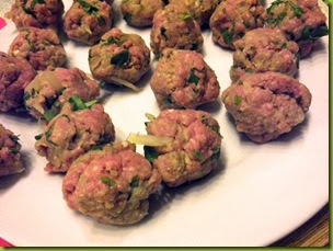 Morrocan meatballs