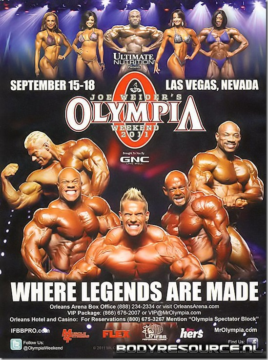 ASSISTA  MR  OLYMPIA LIVE WEBCAST