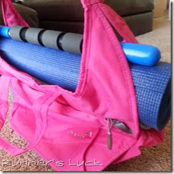 Apera Bag with Yoga Mat
