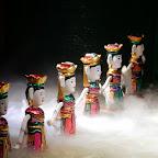 水上人形劇(仙女の舞)