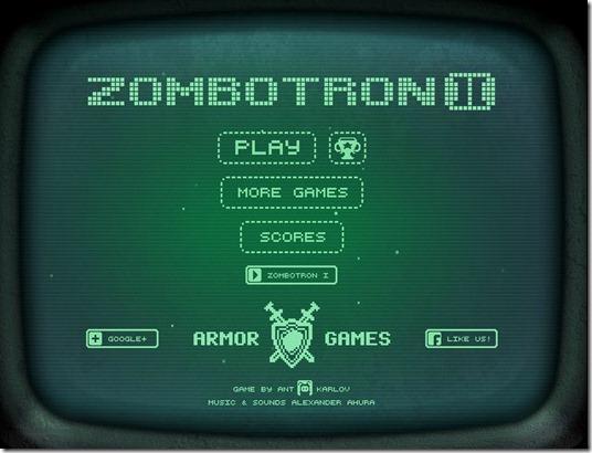 zombotron 2 free web game image title