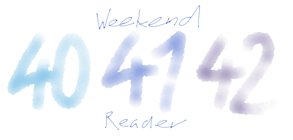 WeekendReader41